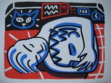 François BOISROND - Print-Multiple - SÉRIGRAPHIE 1987 SIGNÉE CRAYON NUM/200 HANDSIGNED SILKSCREEN