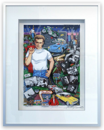 Charles FAZZINO - Print-Multiple - Forever James Dean