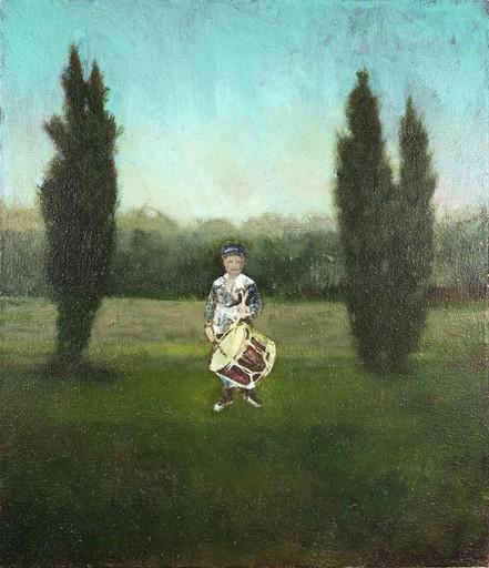 Peter HOFFER - Peinture - Drummer