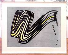 Roy LICHTENSTEIN - Estampe-Multiple - Brushstroke