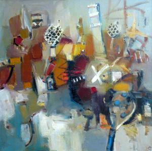 Levan URUSHADZE - Gemälde - Composition # 36