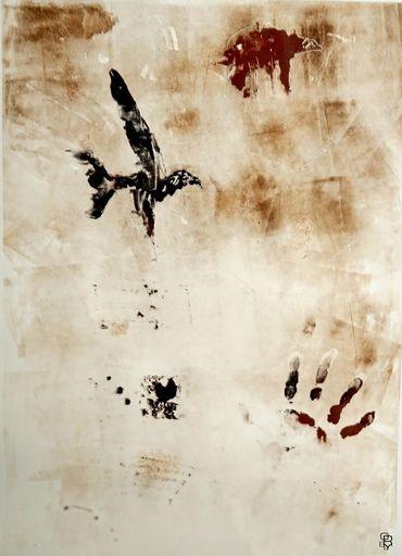 Aurélie LAFOURCADE - Dessin-Aquarelle - Oiseau Pariétal II