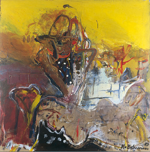 Kees BOHEMEN VAN - Pintura - De verleider