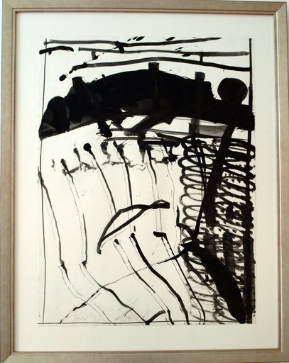 Kurt Rudolf H. SONDERBORG - Zeichnung Aquarell - O.T.