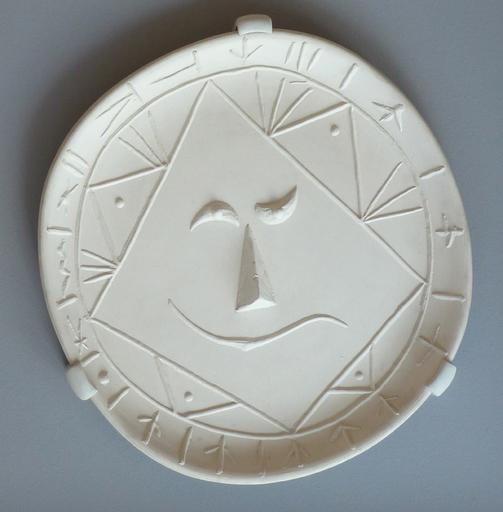 Pablo PICASSO - Ceramiche - Geometric Face