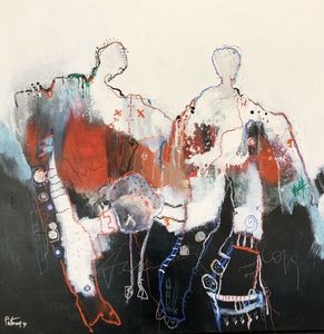 PATOUNE - Painting - Vis tes rêves