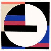 Walter DEXEL - Grabado - Scheibe im Quadrat