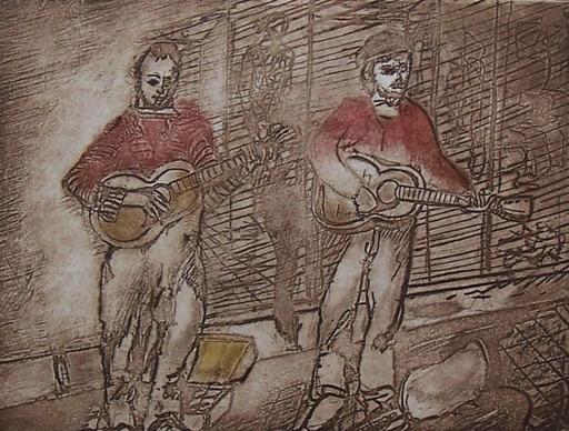 Jacob GILDOR - Print-Multiple - Street Musicians