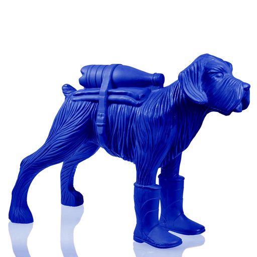 William SWEETLOVE - Sculpture-Volume - Cloned Schnauzer with water bottle