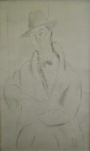Amedeo MODIGLIANI (1884-1920) - Portrait de Mario Varvogli