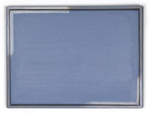 Geneviève ASSE - Painting - Transparence bleue