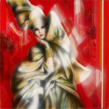 Jean-Baptiste VALADIÉ - Pintura - Fantasque de Femme