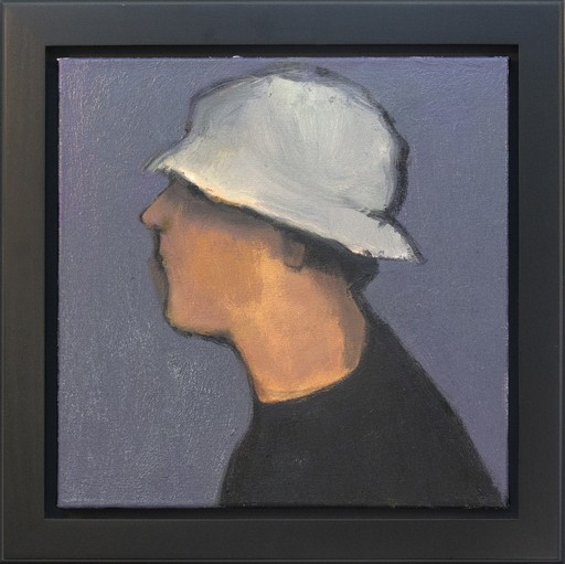 Jennifer HORNYAK - Peinture - Man with Hat