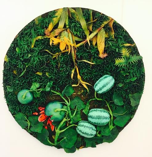 Piero GILARDI - Gemälde - Pasteque et mais