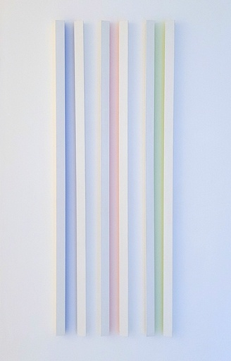 Gerhard DOEHLER - Sculpture-Volume - Chromophores (de la série Ontological Parameter Fixing)