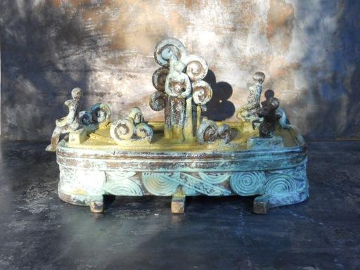 Michaël MAGNE - Sculpture-Volume - Radeau sous condition de vent fort
