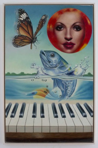 小野洋子、爱罗 - 绘画 - La Truite de Schubert or Sonate for Piano & Fish