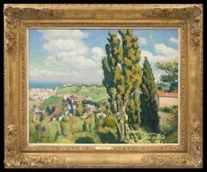 Albert MARQUET - Peinture - Le Cyprès de Djenan Sidi Saïd