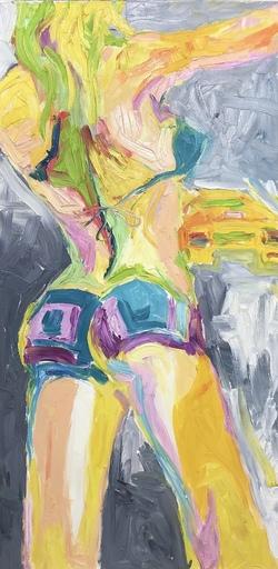 Nicole LEIDENFROST - Gemälde - Ein schöner Rücken