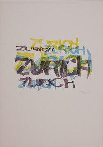 Pol BURY - Estampe-Multiple - Zurich