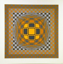 Victor VASARELY - Estampe-Multiple - Zeng