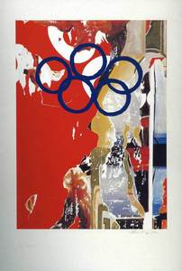 Mimmo ROTELLA, Olympic Centennial