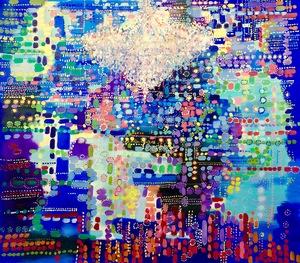 Fabio BIANCO - Peinture - Aboriginal Dream