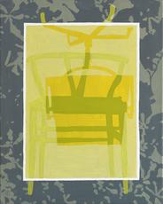 Jörg EBERHARD - Gemälde - Sessel (im Buch)