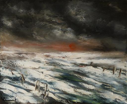 莫里斯•德•弗拉芒克 - 绘画 - Paysage d'hiver