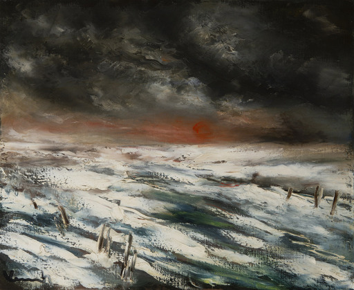 Maurice DE VLAMINCK - Painting - Paysage d'hiver