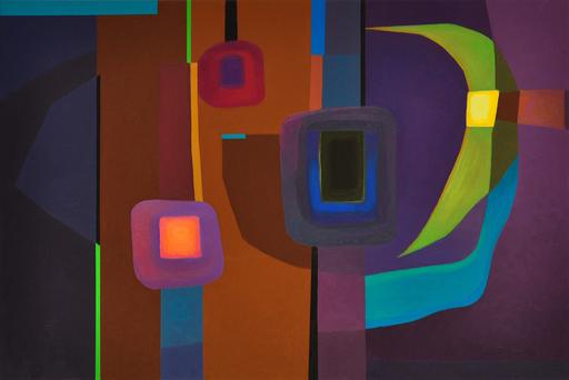 Istvan JARMECZKY - Gemälde - FUGUE IN THE MOONLIGHT