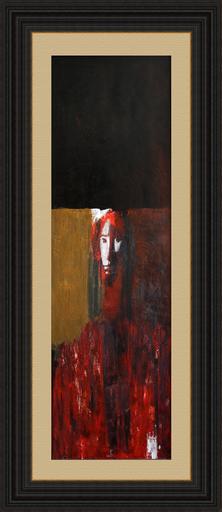 Zurab GIKASHVILI - Pittura - Red portrait