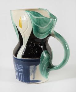 Pablo PICASSO - Ceramic - Pichet aux arums, (A.R.189)