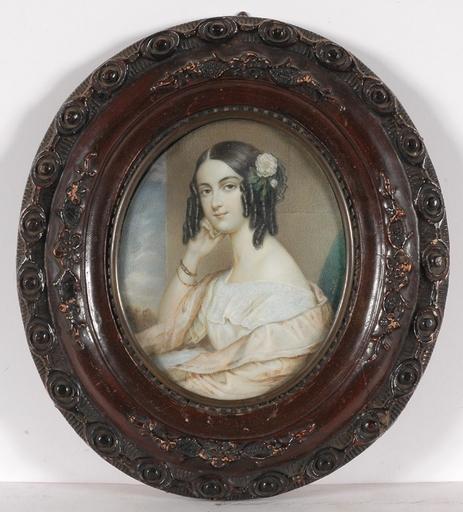 Karl VON SAAR - Miniature - Large Portrait Miniature