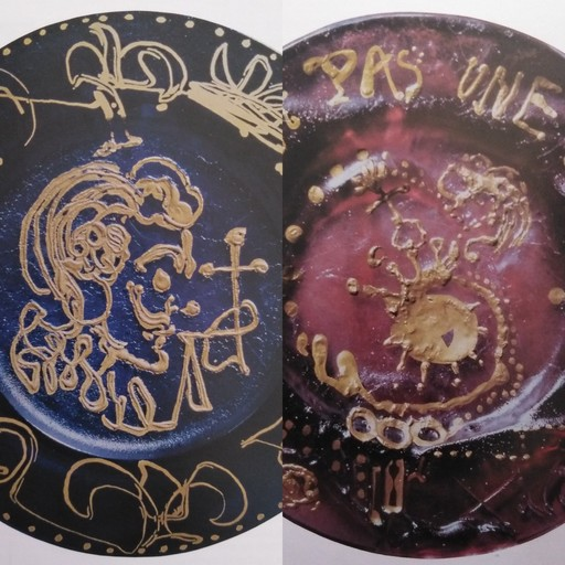 Salvador DALI - Ceramiche - The Triumphat -  This is not a plate