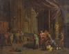 Gérard DE LAIRESSE (Attrib.) - Peinture - Die Heilung des Aussätzigen