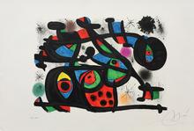 Joan MIRO (1893-1983) - LE RAPT (M. 1241)