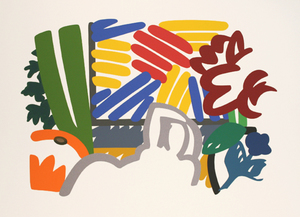 Tom WESSELMANN - Stampa Multiplo - STILL LIFE WITH MATISSE AND JOHNS