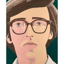 亚历克斯·卡茨 - 版画 - Portrait of a poet: Kenneth Koch