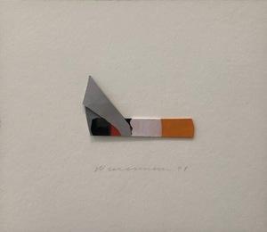Tom WESSELMANN - Pittura - Smoking Cigarette