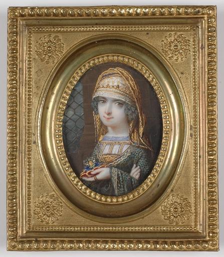 Josef GRASSI (Attrib.) - Miniature - Josef Grassi -CIRCLE, Grand Duchess Anna Fedorovna of Russia