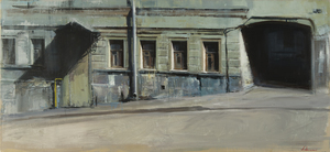 Alexey ALPATOV - Painting - Pechatnikov Lane 2