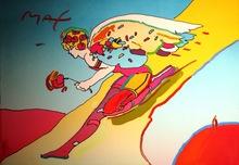 Peter MAX - Pintura - *Descending Angel
