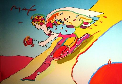 Peter MAX - Gemälde - *Descending Angel