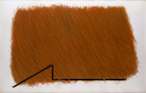 Richard SMITH - Painting - Large Brown Drawing