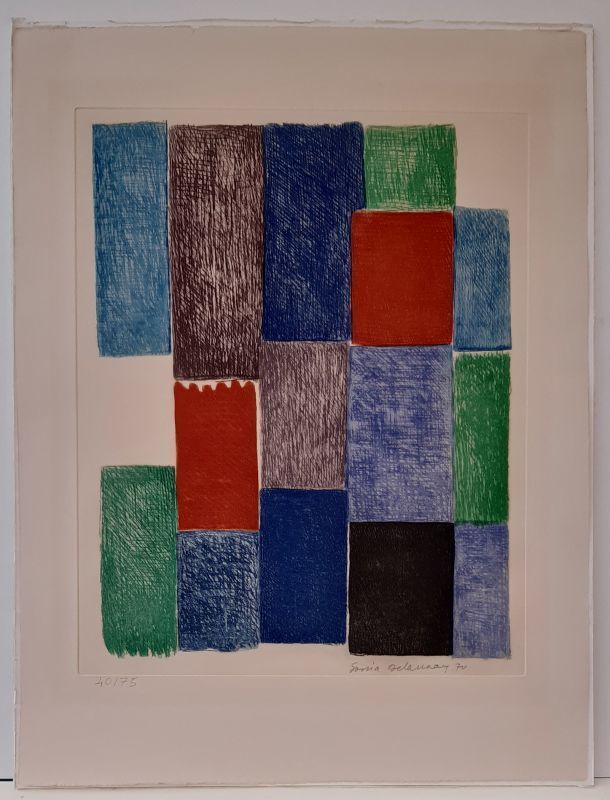 Sonia DELAUNAY - Stampa-Multiplo - Avec moi-même
