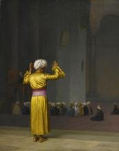 Jean-Léon GÉROME - Pintura - PRIÈRE DANS LA MOSQUÉE