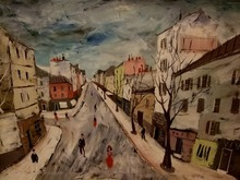 Charles LEVIER - Painting - Street