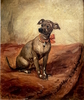 Gustav WERTHEIMER - Painting - Le chien