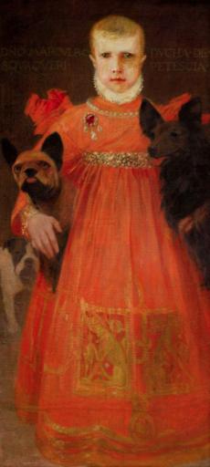 Umberto BOTTAZZI - Gemälde - Il duca di Petescia (1920 - 1930)